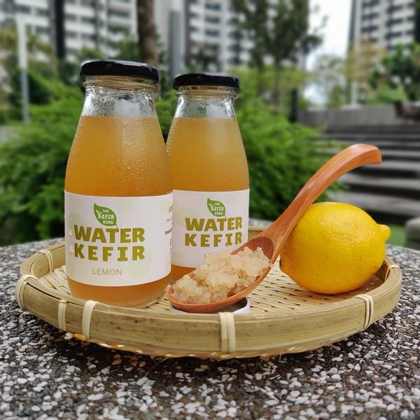 The Kefir King - Lemon Water Kefir